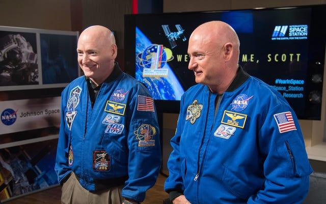 Die DNA des Astronauten Scott Kelly hat sich im Weltraum nicht so verändert, wie Sie denken