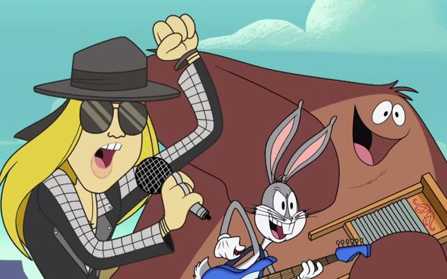 アクセル・ローズは、ルーニー・テューンズの漫画を通じて、10年ぶりの新曲をリリースしました