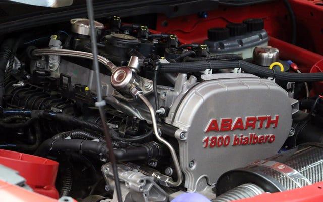 การแข่งขัน Abarth 124 Rally มี Engine Bay ที่ดีที่สุดที่เจนีวา