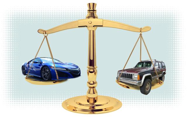यह एक २५०,००० मील जंकर से बाहर निकलने और $१५०,००० Acura NSX में जाने जैसा क्या है?