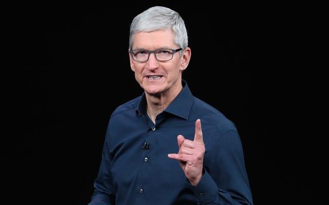 ティム・クックがアップルが香港の抗議者を売り切れた理由を説明し、倍増