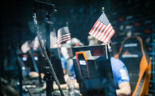 アメリカは自宅での屈辱を厳しく回避カウンターストライクトーナメント予選