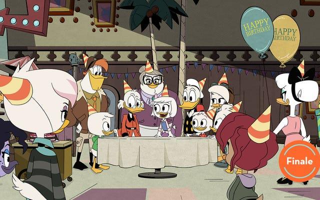 ตอนจบของซีรีส์ DuckTales นำครอบครัวกลับมารวมตัวกันอีกครั้งเพื่อการผจญภัยครั้งสุดท้ายครั้งสุดท้าย