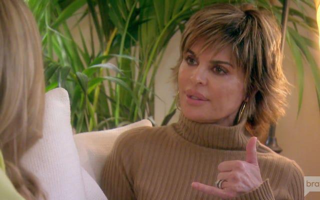 Les vraies femmes au foyer de Beverly Hills nous le rappellent: ne bousculez pas l'arnaqueur