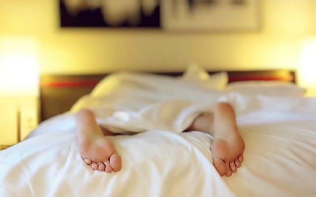寝る前にやることリストを書いて、早く眠りにつく