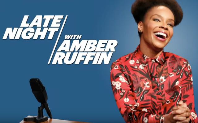 Nella notte del dibattito, Amber Ruffin di Late Night ribatte il piagnucoloso contraccolpo razzista su diverse rifusioni