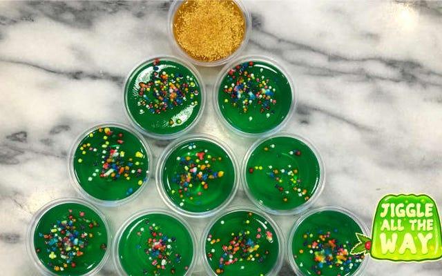 Nuestro regalo navideño para ti: la única guía de sabores de chupitos de gelatina que necesitarás
