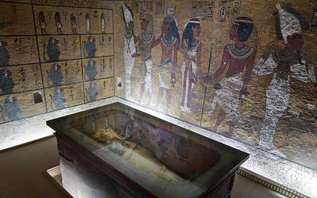 ツタンカーメン王の墓の後ろに秘密の部屋はありません、調査は結論します