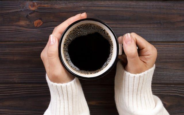 このトリックはあなたをブラックコーヒーに変えるかもしれません