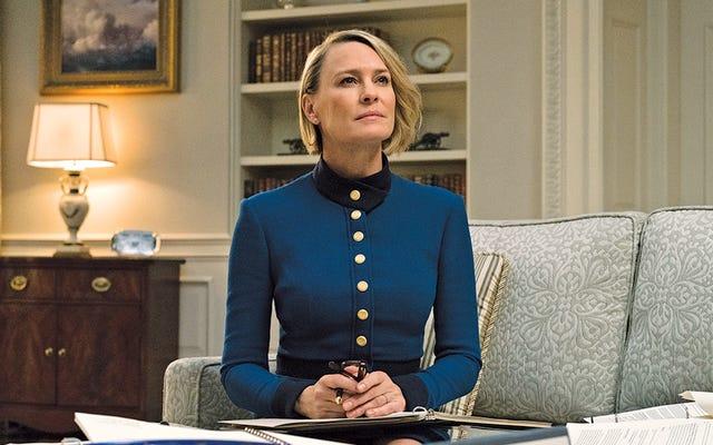 House of Cards'ın altıncı sezonu olacak ve oyuncu Robin Wright başrolde olacak