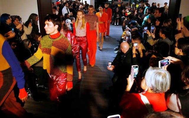 La Fashion Week de New York n'est pas durable, mais l'industrie de la mode non plus