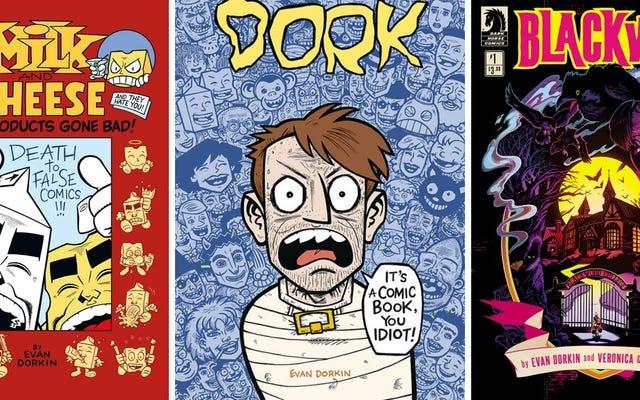 Создатель молока и сыра Эван Доркин рассказывает о своей странной блестящей карьере в комиксах