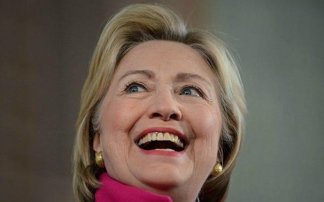 娘を持つ親は、息子だけを持つ親よりもヒラリー・クリントンを支持する可能性が14%高い