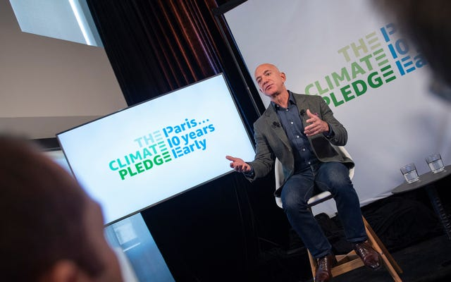 企業の気候計画についての実際の取引