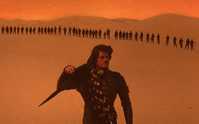 ゲーム・オブ・スローンズ言語ビルダーのデビッド・ピーターソンがデニス・ビルヌーブの砂丘に取り組んでいます