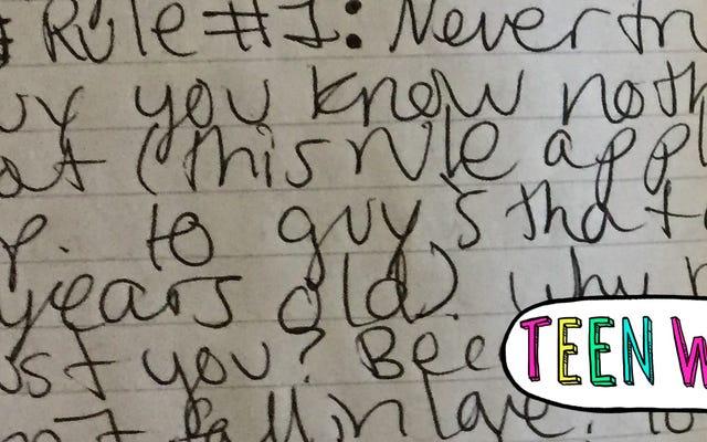 ケイトの10代の日記:「12歳で恋に落ちる可能性があると思いますか?」