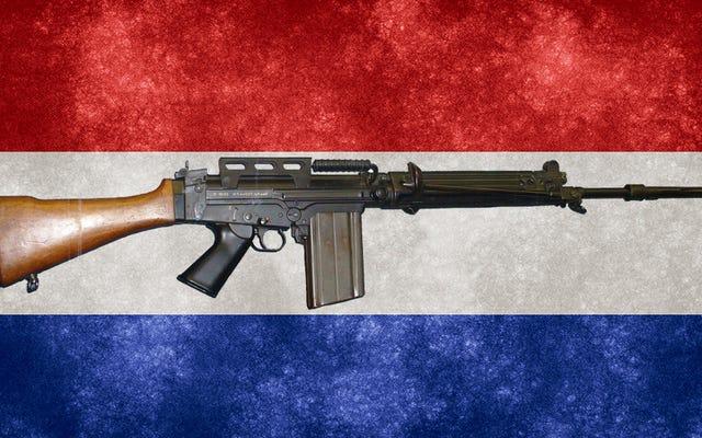Die paraguayische Polizei entdeckt, dass jemand seine Gewehre durch Spielzeugnachbildungen ersetzt hat