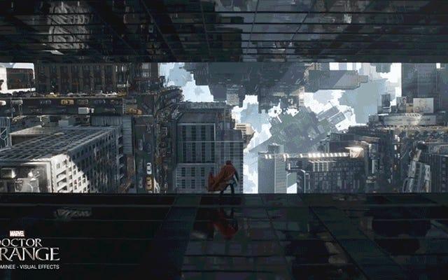 Guarda ILM trasformare New York City in un nodo contorto gigante per Doctor Strange