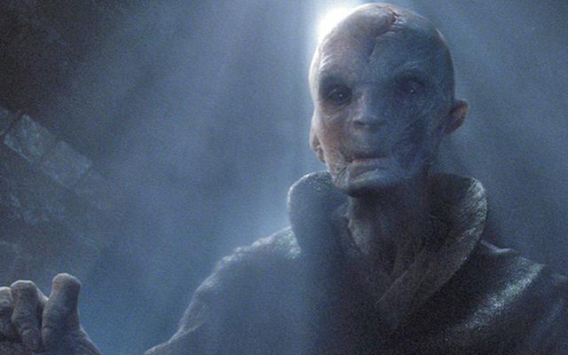 Aktor stojący za Supreme Leader Snoke potwierdza, że największy złoczyńca z Gwiezdnych Wojen nie jest tym, co sobie wyobrażamy