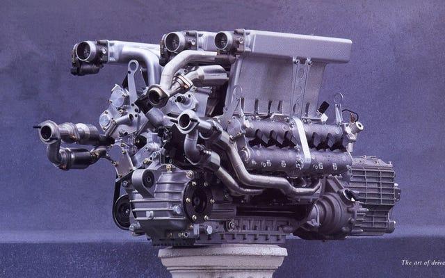 フォルクスワーゲンはブガッティW16の前にさらに奇妙なエンジンを作りました