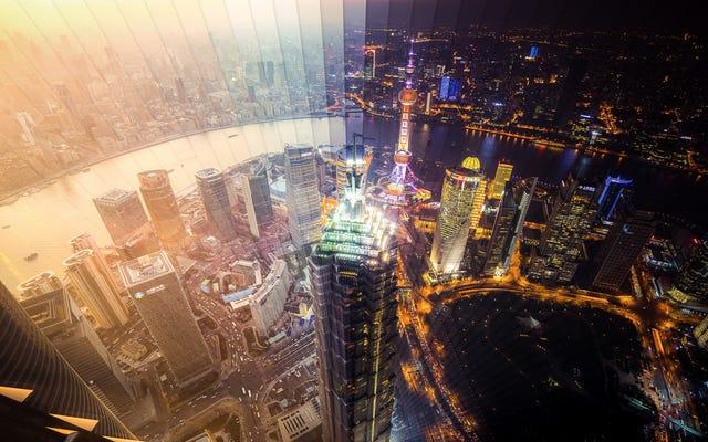 De superbes photographies capturent jour et nuit de Shanghai et de Hong Kong