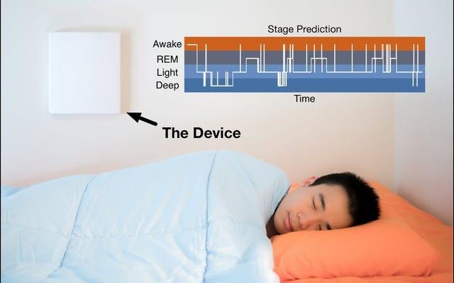 Wi-Fi信号は、いつかあなたが夢を見ているかどうかを知るために使用される可能性があります