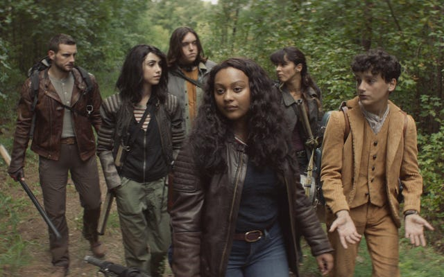 A trip to high school helps Walking Dead: World Beyond find its footing
