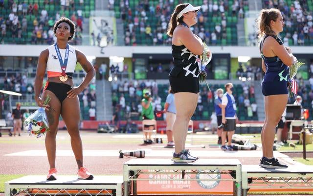 Atlet Olimpiade yang bisa protes di Tokyo