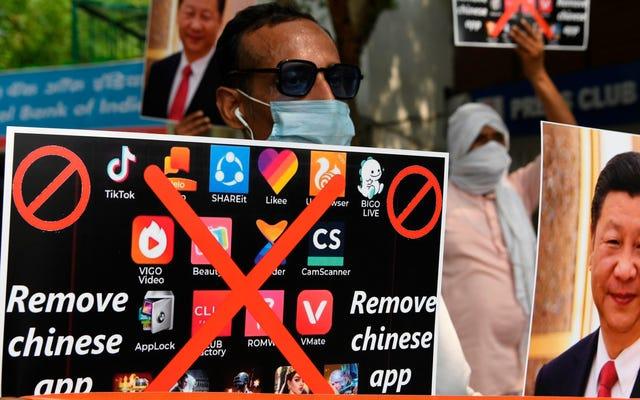 インドはついにTikTokと58の他の中国のアプリの禁止を解除しました