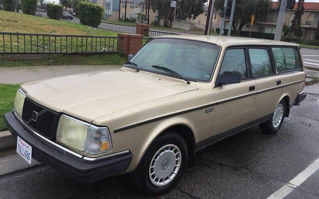 2,985ドルで、この1992年のボルボ240は、あなたが必要とする最後の車になるでしょうか?