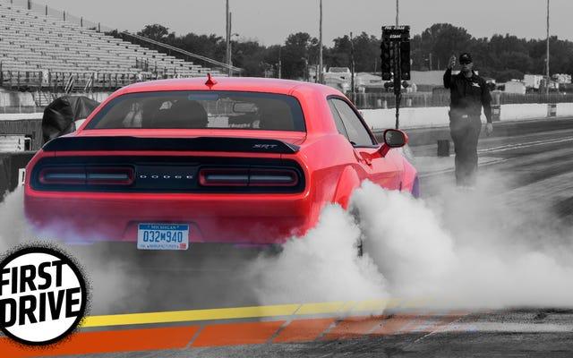 Demonstran Dodge Challenger SRT 2018 Hidup Hingga Hype Dengan Kecepatan yang Keras