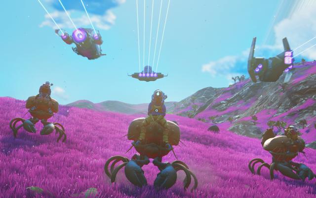 No Man's Sky Creator su nuove funzionalità multiplayer, addomesticare animali e altro ancora