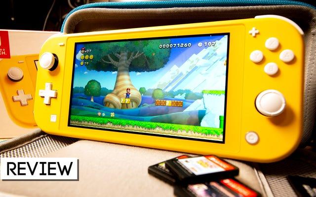 Nintendo Switch Liteは、私が使用した中で最高のポータブルコンソールの1つですが、Switchと交換するつもりはありません。