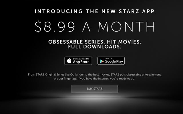 Starz startet Streaming-Service mit Original-Shows und großen Filmen für 8,99 USD pro Monat