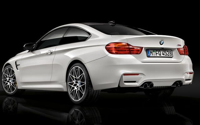 Le cinture di sicurezza sono la parte più interessante del pacchetto BMW M Competition
