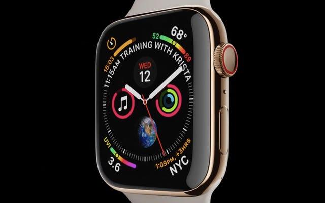 Apple Watch Series 4: voici tout ce qu'il peut faire