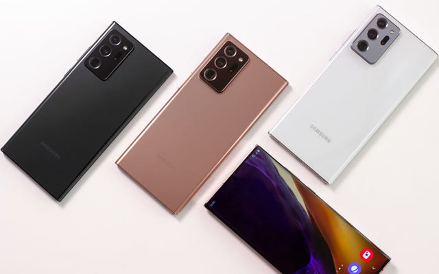 โทรศัพท์ Galaxy Note 20 ของ Samsung จะแตกต่างจากคู่แข่งได้อย่างไร