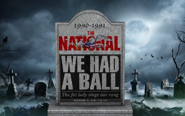 एक 'राष्ट्रीय' आपदा: कैसे बेतहाशा, लापरवाह खर्च ने इस देश के पहले और आखिरी खेल को एक प्रारंभिक कब्र में भेज दिया - किसी ऐसे व्यक्ति से जो वहां था