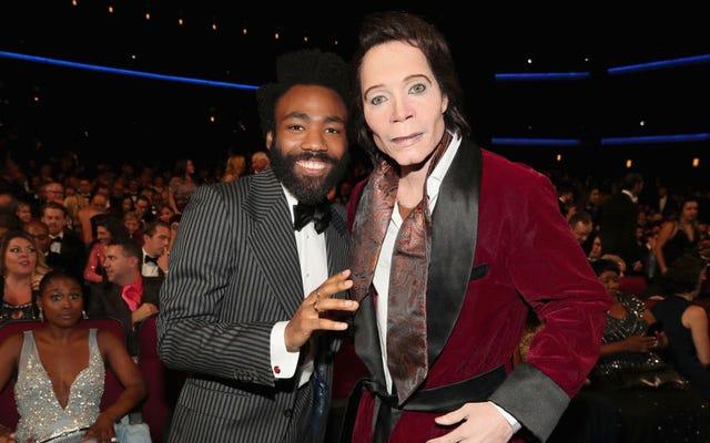 それで、エミー賞でテディ・パーキンスに扮したドナルド・グローバーではなかったら?