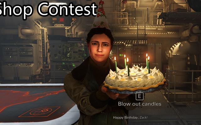 Concours Boutique: Joyeux anniversaire!