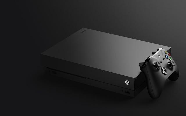 Xbox One X पर एक नज़र डालें