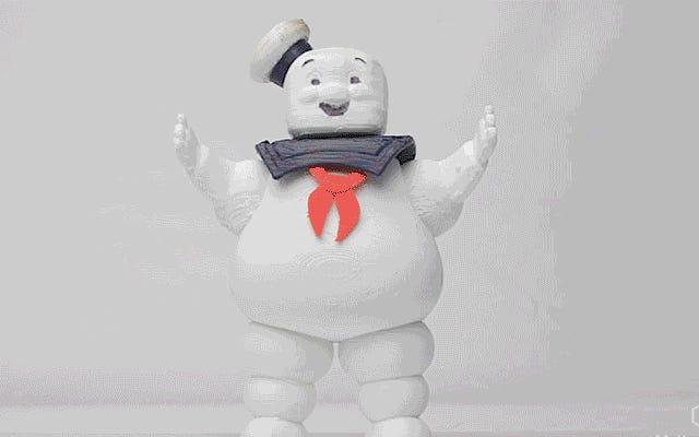 ดู Stay Puft Marshmallow Man ละลายหายไปด้วยวิธีที่น่ากลัวที่สุดเท่าที่จะเป็นไปได้