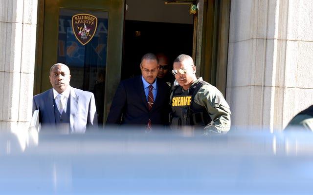 Fiscal: Freddie Gray fue víctima de 'Rough Ride'
