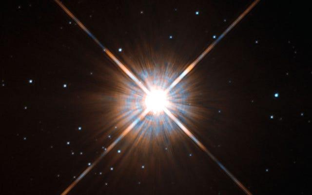 私たちの最も近い隣の星が他の場所から盗まれた可能性があります