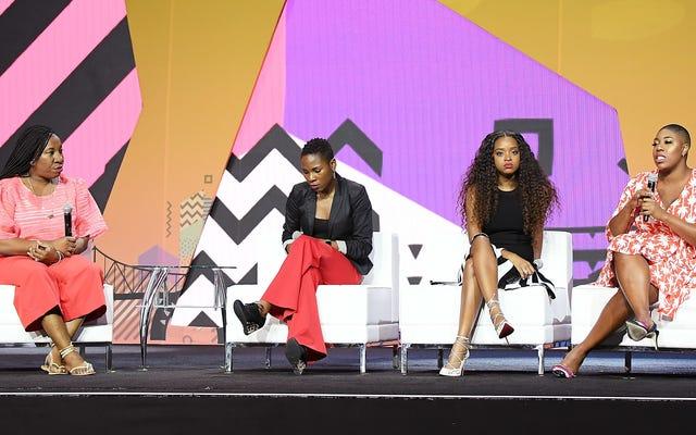 目が覚めた?仕事をする:タラナ・バーク、タミカ・マロリー、シモーン・サンダースが説明責任について語る