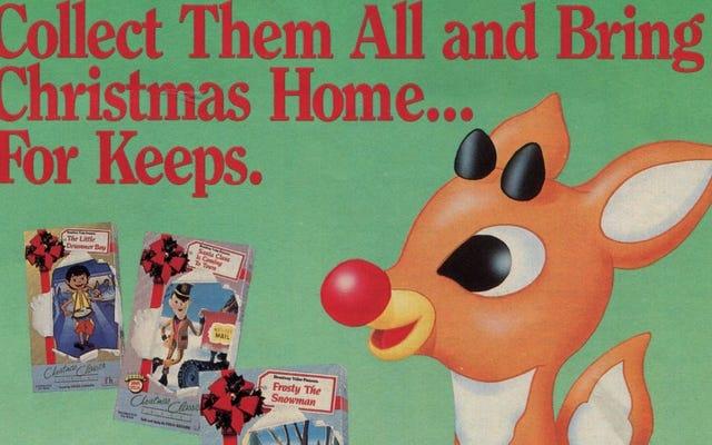 クリスマスの12日間のプレゼント:大ヒット作のお気に入りの季節限定VHSテープ