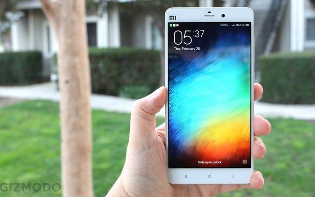 Примечание Xiaomi Mi: этот китайский телефон великолепен. Жаль, что вы не можете это использовать.