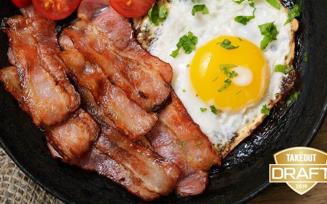 El borrador de comida de fantasía de The Takeout: los mejores artículos para el desayuno