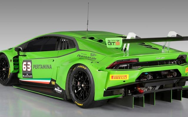 लैंबॉर्गिनी हुराकैन GT3 आपको उल्लास से भर देगी