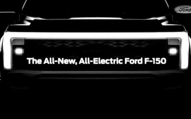 フォードは来たる2023年の電気F-150のフロントエンドをからかう